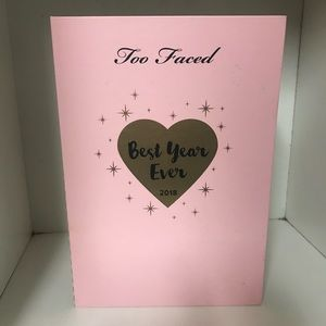 Too faced best year ever palette